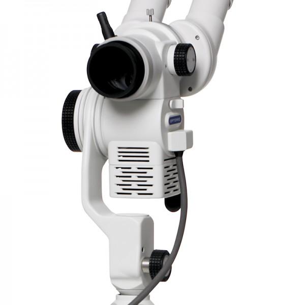 OP-C2L-colposcopio-Cambiador de aumentos-Iluminación LED integrada